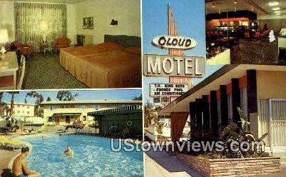 Cloud Motel - Los Angeles, California CA Postcard