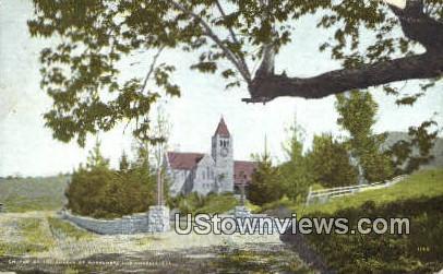 Church of the Angels, Garvanza - Los Angeles, California CA Postcard