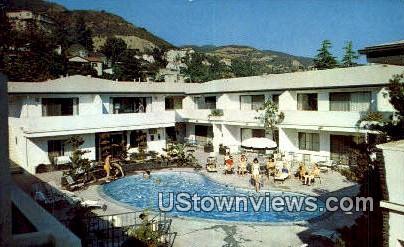 Regency Apartment Hotel - Los Angeles, California CA Postcard