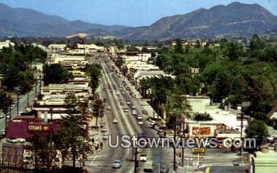 Ventura Blvd, Studio City - Los Angeles, California CA Postcard