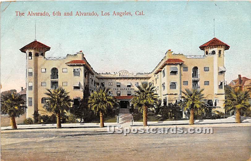 Alvarado - Los Angeles, California CA Postcard