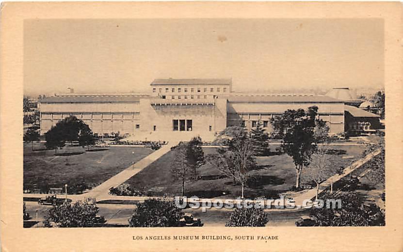 Los Angeles Museum Building - California CA Postcard