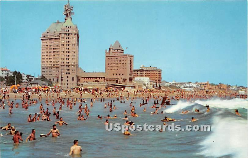 Long Beach, California CA Postcard