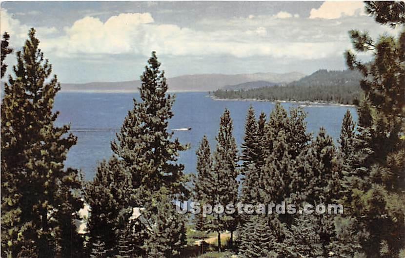 Lake Tahoe, California CA Postcard