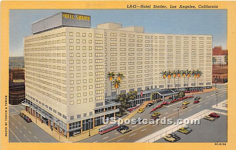 Hotel Statler - Los Angeles, California CA Postcard