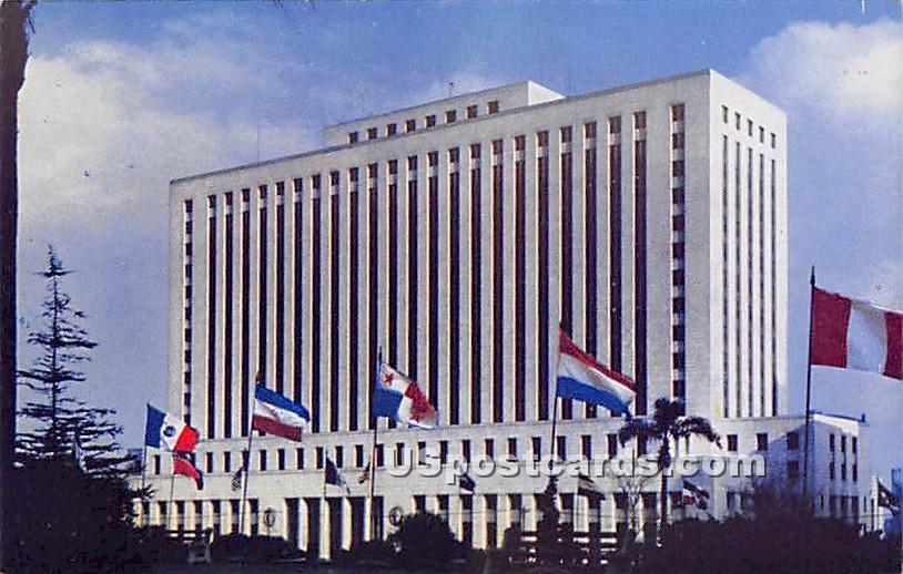 Federal Building - Los Angeles, California CA Postcard