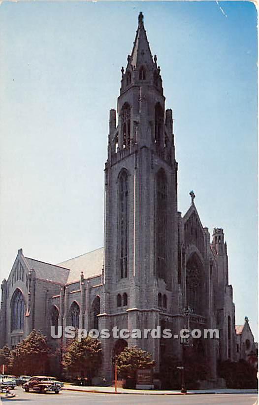 Immanuel Presbyterian Church - Los Angeles, California CA Postcard
