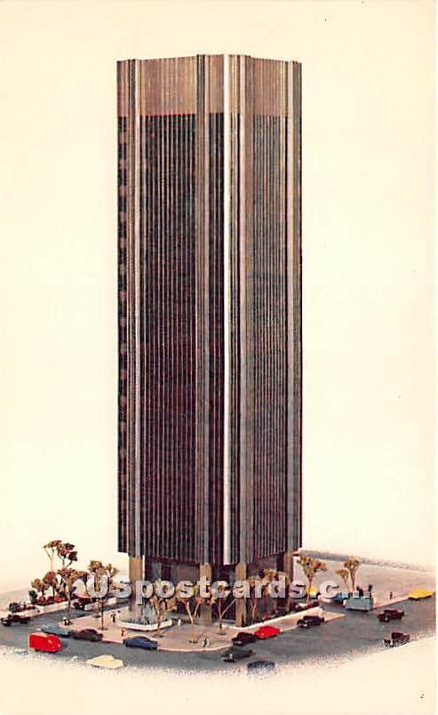 Sunset Vine Tower - Los Angeles, California CA Postcard