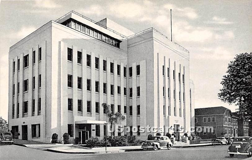 White Memorial Hospital - Los Angeles, California CA Postcard