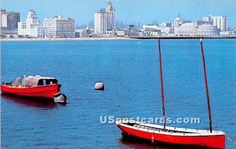 Long Beach, California CA Postcard