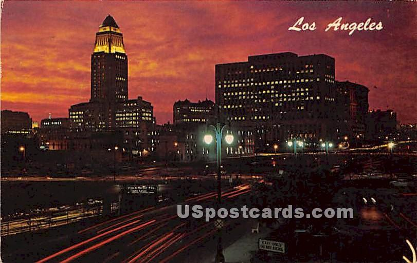 Los Angeles, California CA Postcard