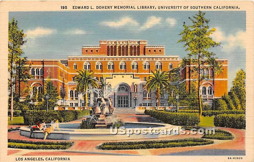 University of Southern Califor ... - Los Angeles, California CA Postcard