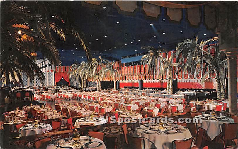 Cocoanut Grove, Los Angeles Ambassador - California CA Postcard