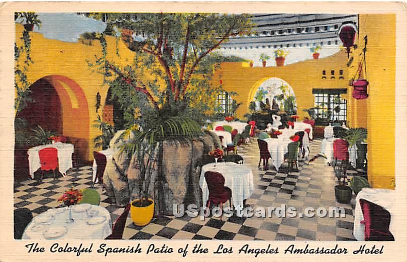 Los Angeles Ambassador Hotel - California CA Postcard