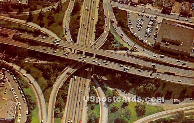 The Stack - Los Angeles, California CA Postcard