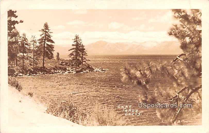 Lake View - Lake Tahoe, California CA Postcard