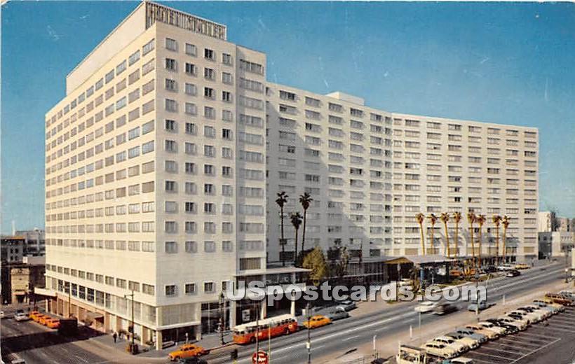 Statler Center - Los Angeles, California CA Postcard