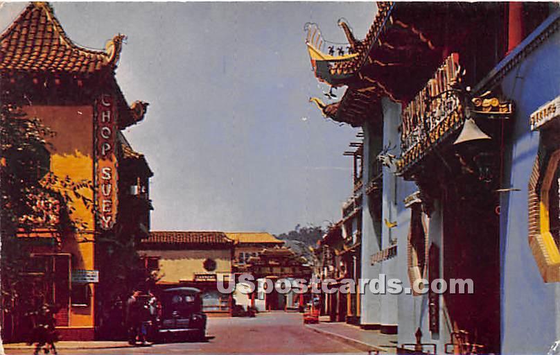 Chinatown - Los Angeles, California CA Postcard