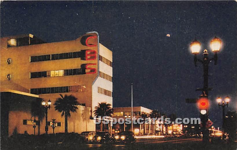CBS Studios - Los Angeles, California CA Postcard