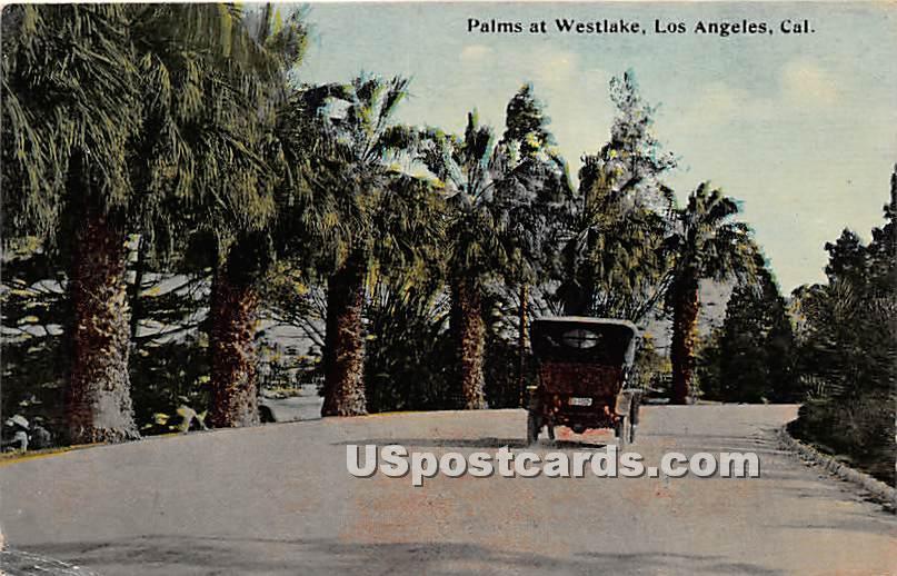 Palms at Westlake - Los Angeles, California CA Postcard