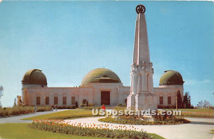 The Planetarium - Los Angeles, California CA Postcard