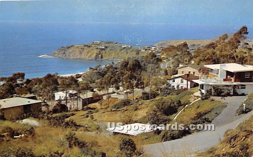 Emerald Bay - Laguna Beach, California CA Postcard