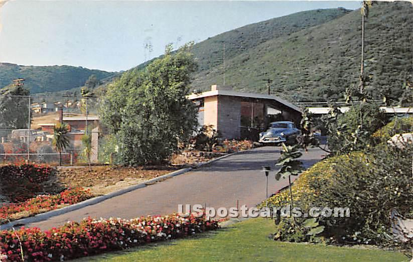 Seafare Lodge - Laguna Beach, California CA Postcard