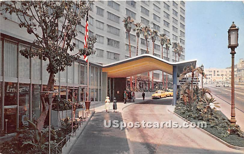 Statler Hotel - Los Angeles, California CA Postcard