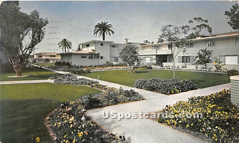 Garden Studios - Los Angeles, California CA Postcard