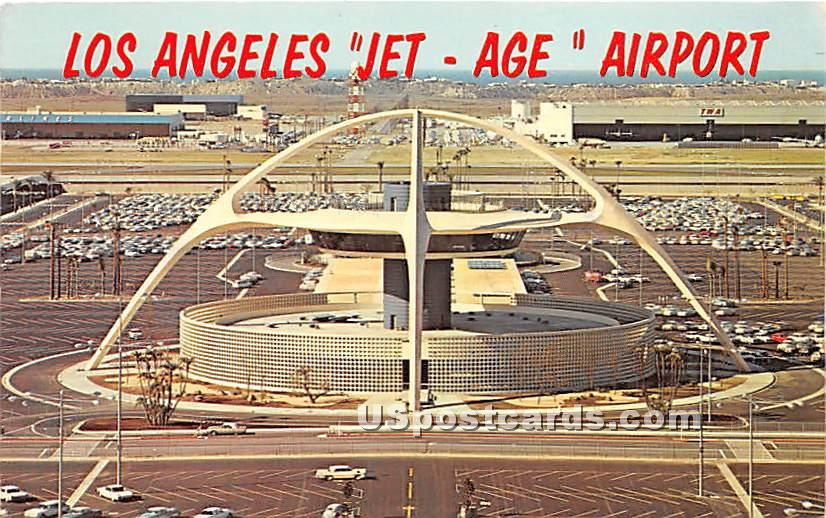 International Airport - Los Angeles, California CA Postcard