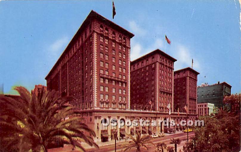 Biltmore Hotel - Los Angeles, California CA Postcard