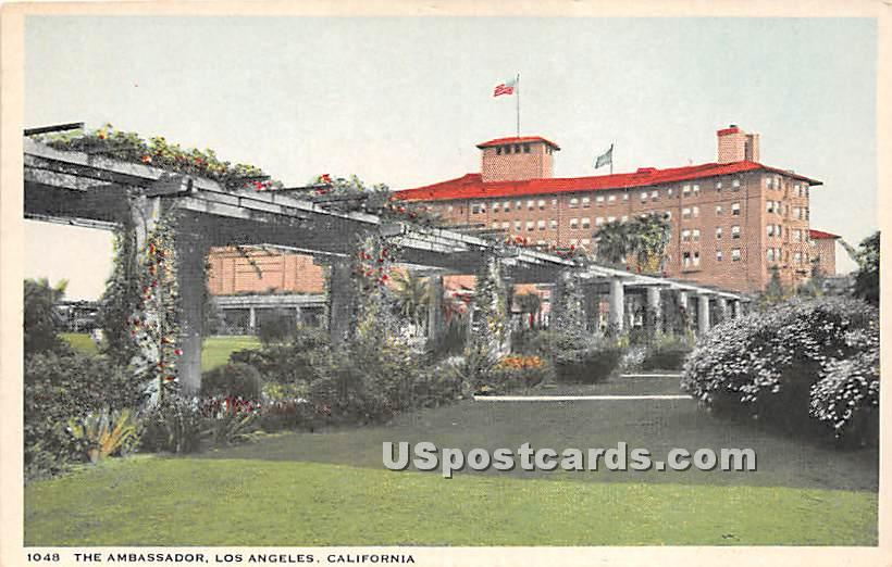 The Ambassador - Los Angeles, California CA Postcard