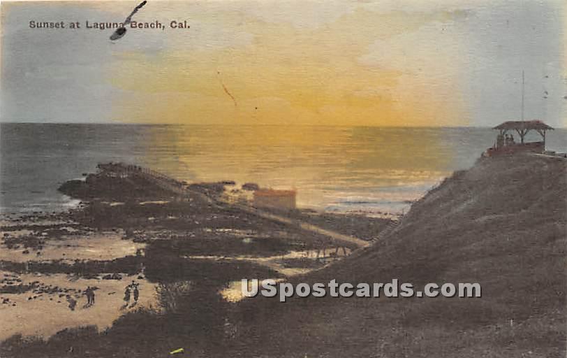 Laguna Beach, California CA Postcard