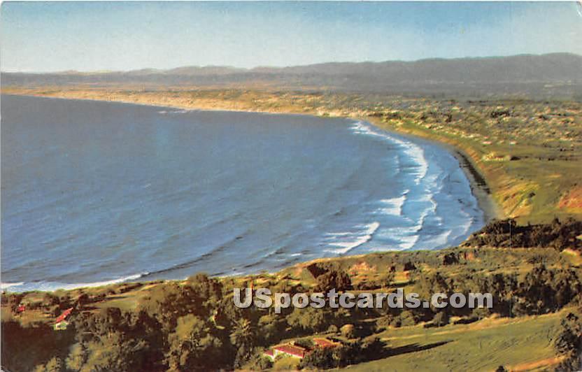 Los Angeles County West Coast Beaches - California CA Postcard