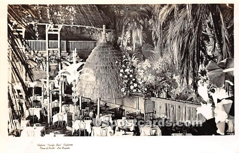 Chifton's Pacific Seas Cafeteria - Los Angeles, California CA Postcard