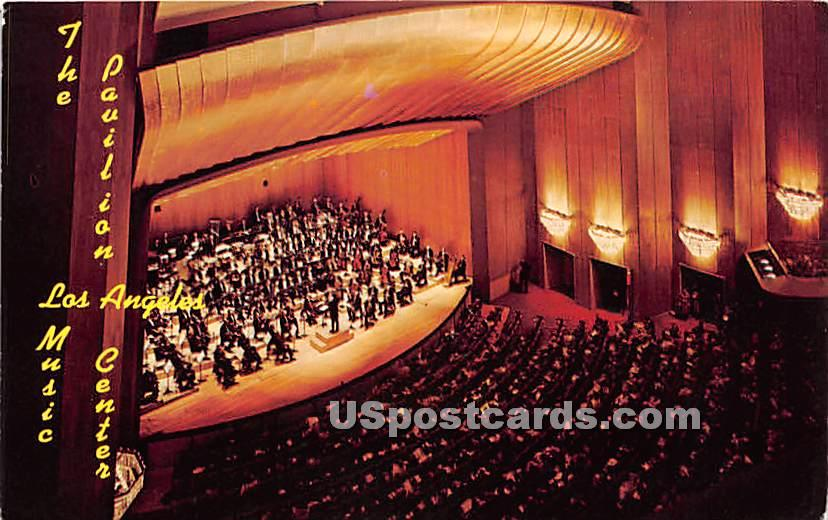Los Angeles Music Center - California CA Postcard