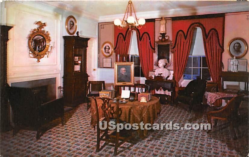 Longfellow Historical Room, Church of the Hills - Los Angeles, California CA Postcard