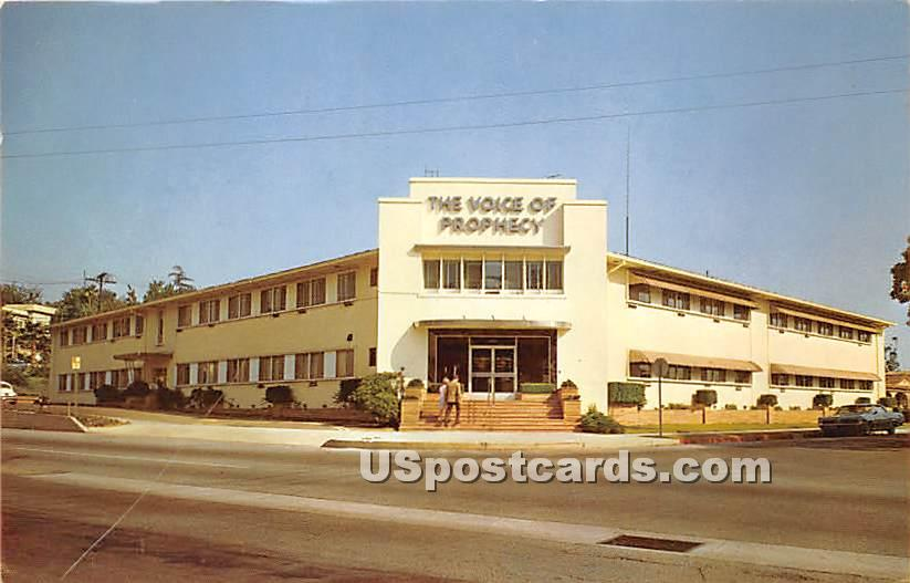 Voice of Prophecy Broadcasting Studios - Los Angeles, California CA Postcard