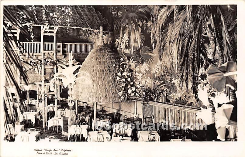 Clifton's Pacific Seas Cafeteria - Los Angeles, California CA Postcard