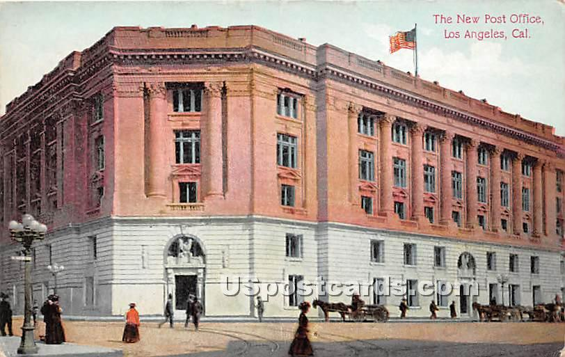 New Post Office - Los Angeles, California CA Postcard