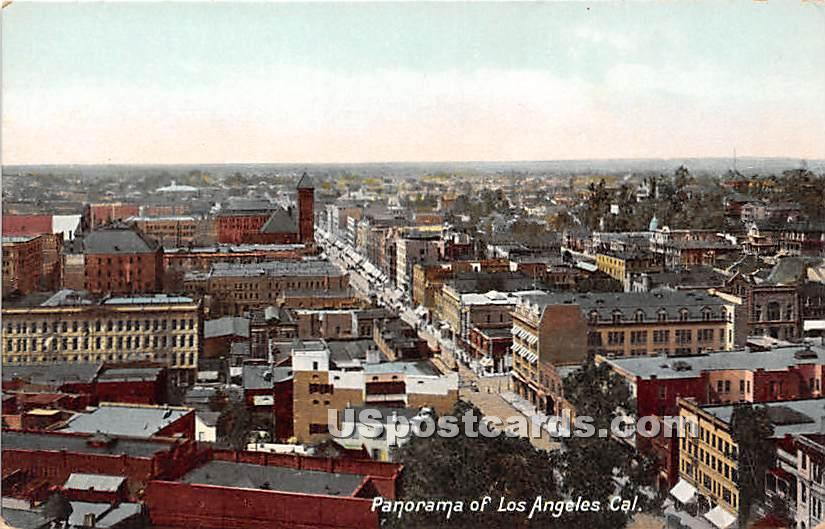 Panorama - Los Angeles, California CA Postcard