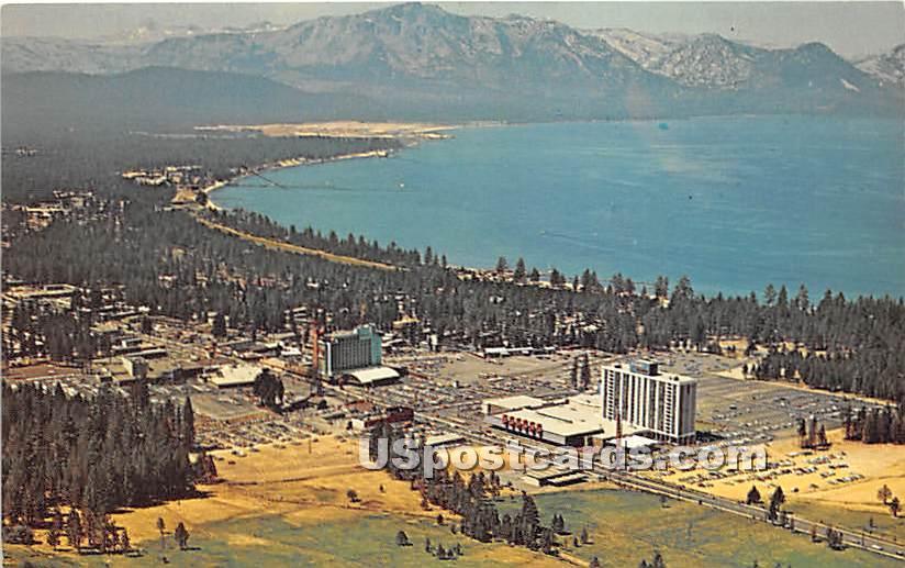Stateline - Lake Tahoe, California CA Postcard