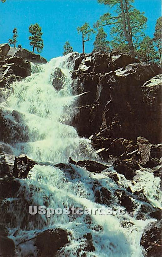 Eagle Falls, Emerald Bay - Lake Tahoe, California CA Postcard