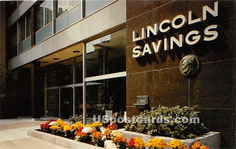 Lincoln Savings & Loan Association - Los Angeles, California CA Postcard