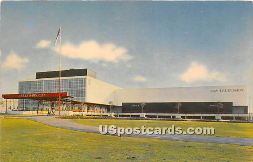 CBS Television City - Los Angeles, California CA Postcard