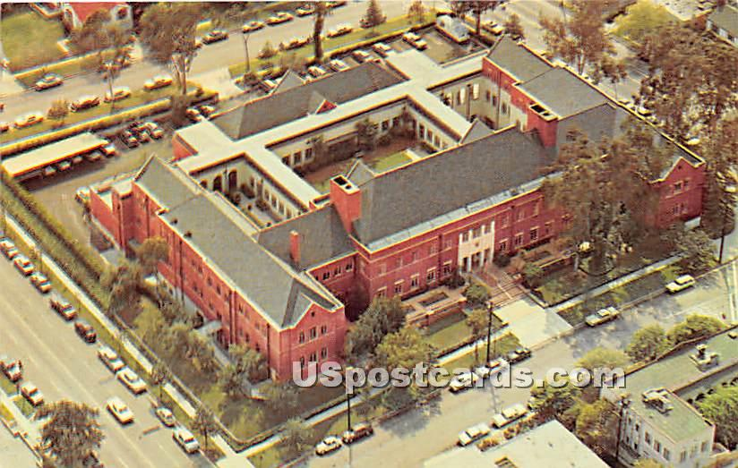 Shriners Hospital for Crippled Children - Los Angeles, California CA Postcard