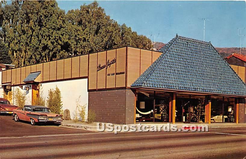 Far East Treasures Building of Warren Imports - Laguna Beach, California CA Postcard