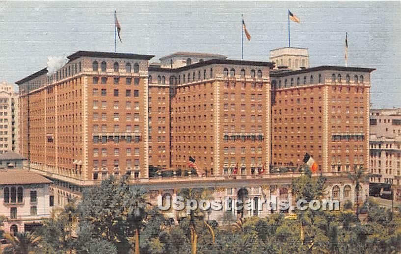 Biltmore Hotel - Los Angeles, California CA Postcard