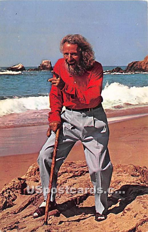 Eiler Larsen, Goodwill Ambassador - Laguna Beach, California CA Postcard