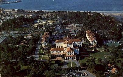 U.S. Naval Post Graduate School - Monterey, California CA Postcard